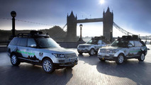 Range Rover Hybrid on Silk Trail 2013 29.8.2013