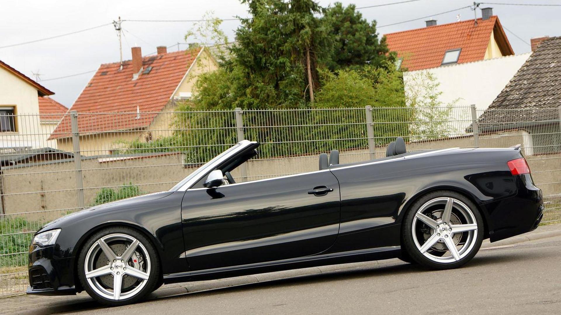 Чёрная Audi RS5 Convertible от Senner Tuning
