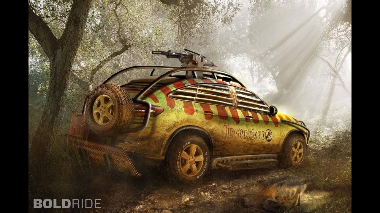 Mercedes-Benz GLE Jurassic World Concept