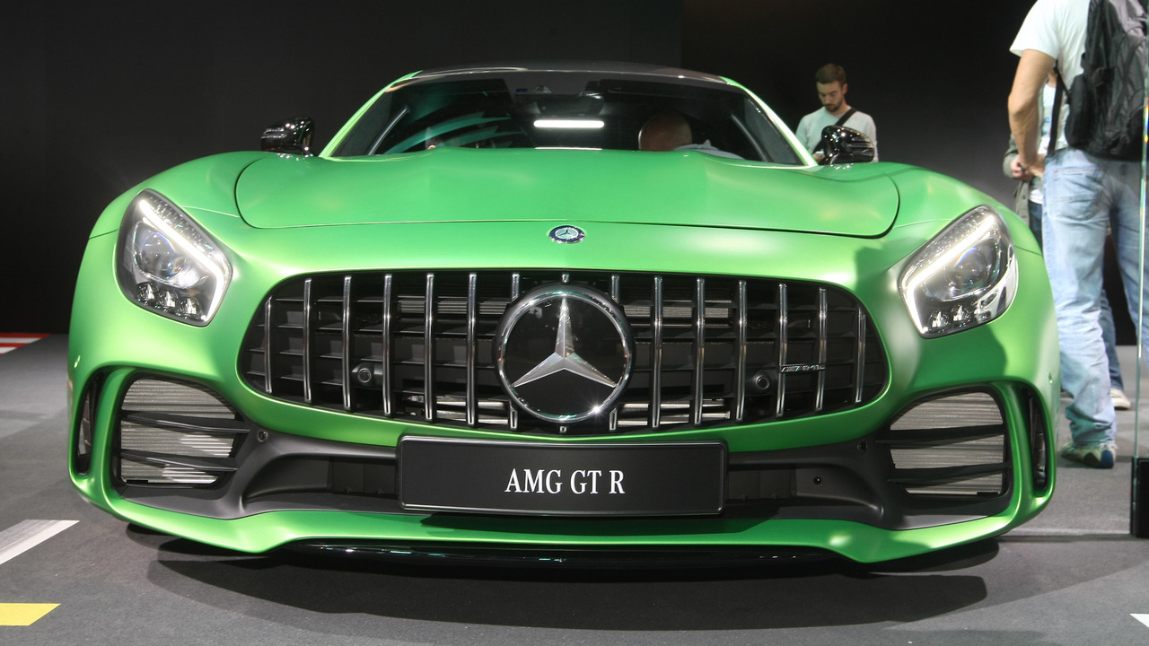 Mercedes AMG GT R Mondial de l'Automobile
