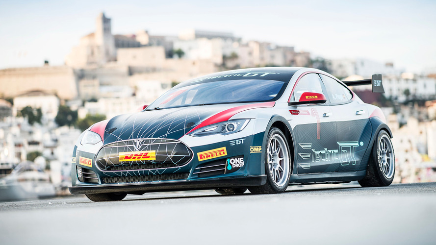 Tesla Model S Electric GT race series announced
