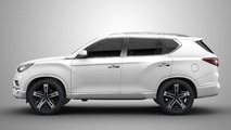 Ssangyong LIV-2 SUV concept