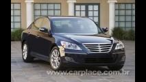 Depois do sucesso Azera, Hyundai pode trazer o sedan Genesis ao Brasil