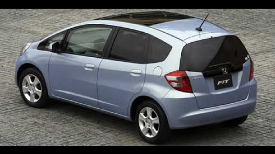 Em 2 semanas, Honda recebe 20.000 pedidos do Novo FIT no Japão