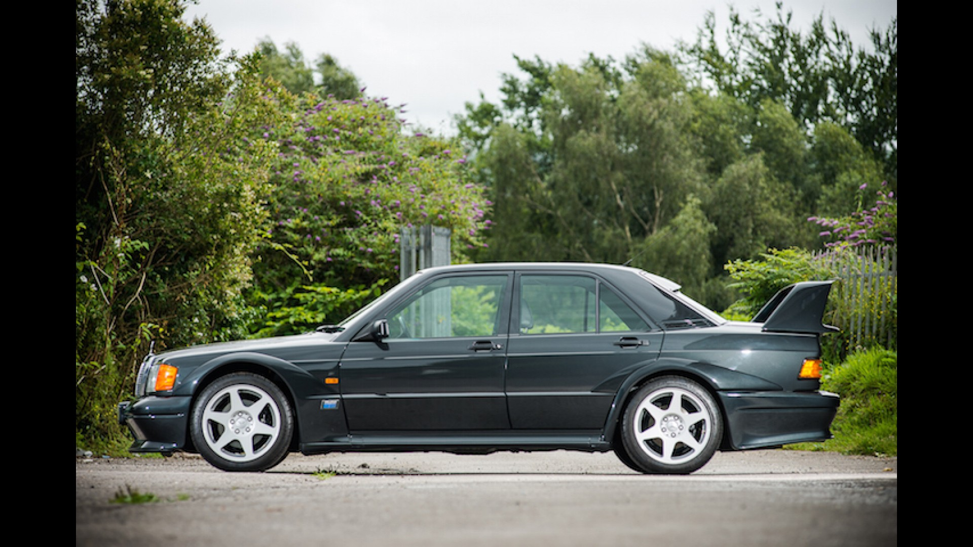 Factory Fresh 1990 Mercedes 190E Evo II Goes To Auction