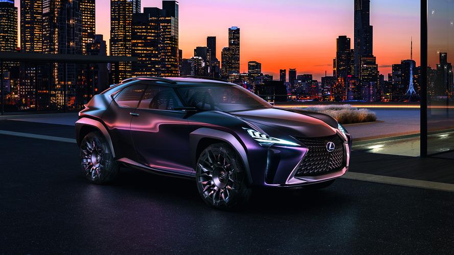 Lexus UX konseptine üretim için yeşil ışık yakıldı