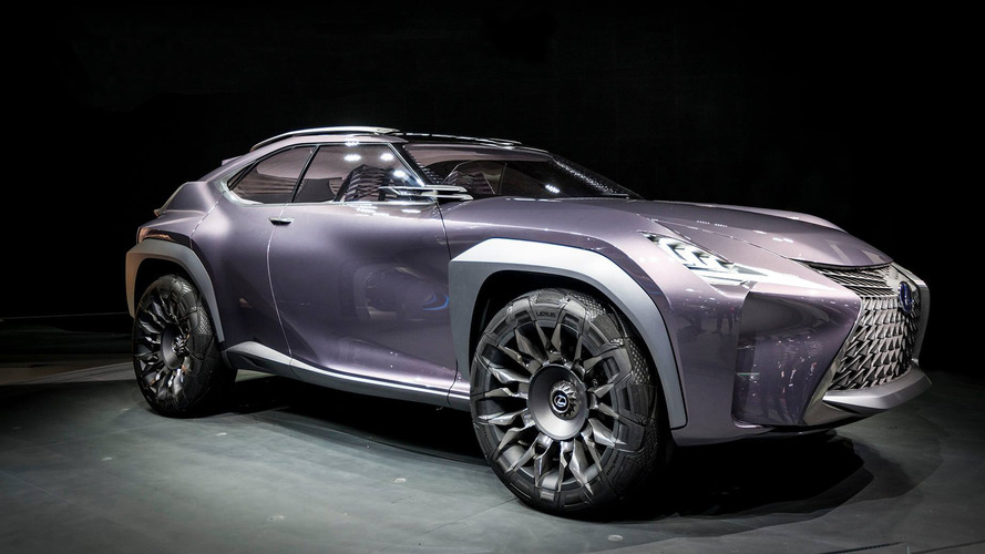 Lexus UX Small Crossover Likely En Route To Geneva Motor Show