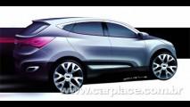 Conceito HED-6 adianta como será a nova geração do Hyundai Tucson