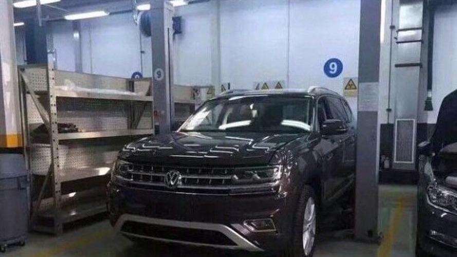 Volkswagen Teramont - Les photos intérieur et extérieur sans camouflage