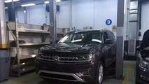 Volkswagen Teramont photos espion sans camouflage