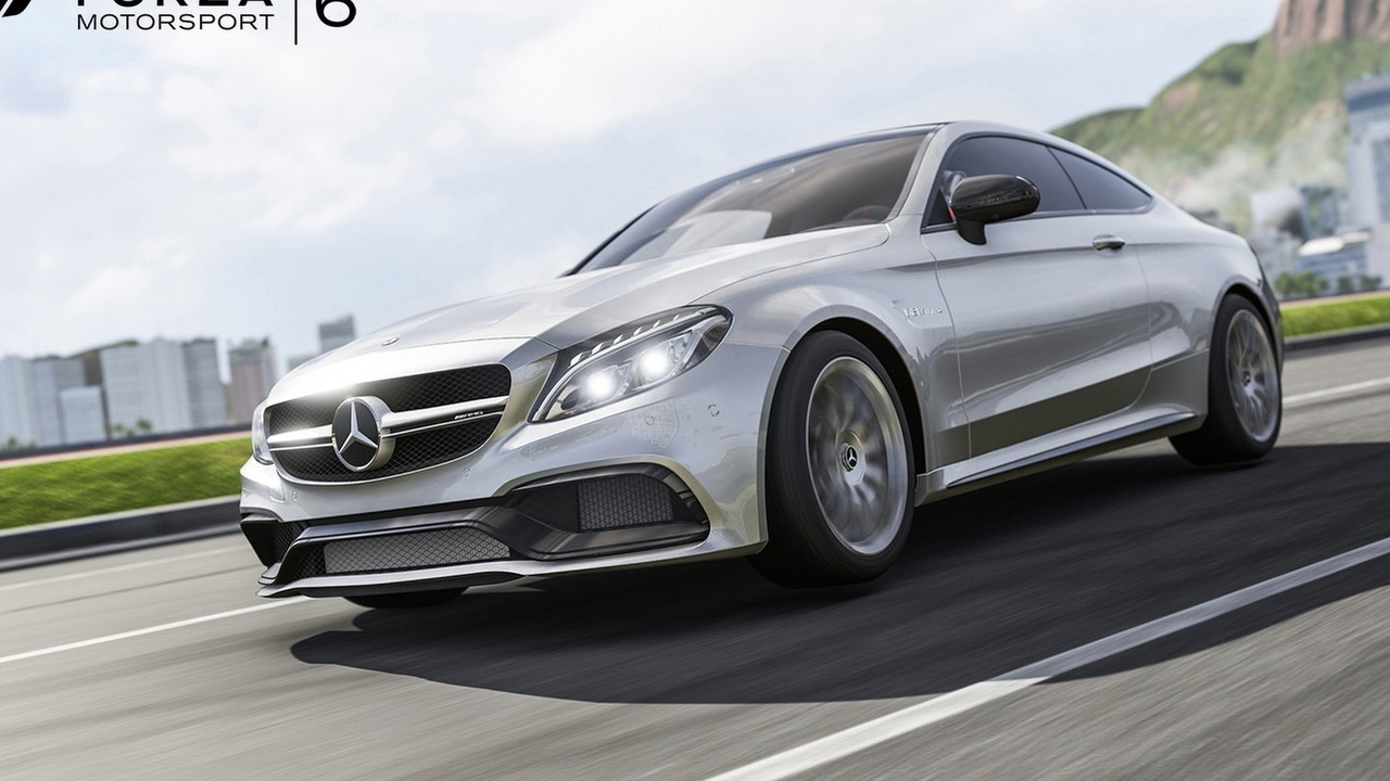 Mercedes-AMG C63 S Coupe in Forza 6