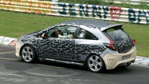 New Opel Corsa OPC Spy Photos