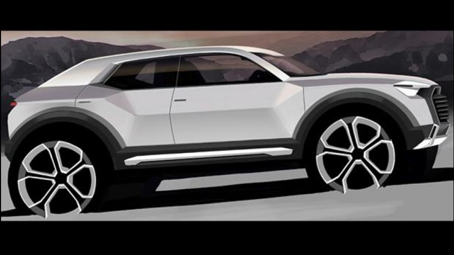 Audi Q1, la SUV compatta per il 2016