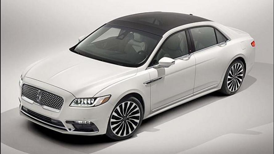 Nuova Lincoln Continental, l'ammiraglia secondo Ford