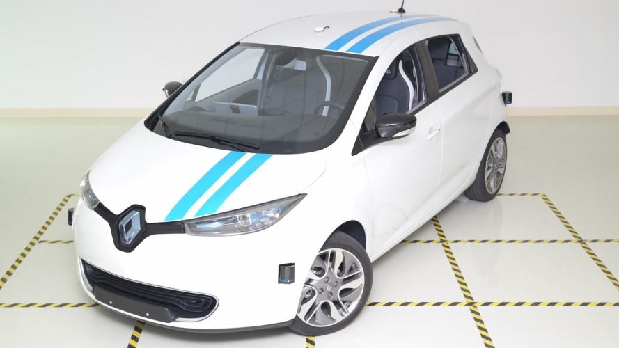 Renault, la guida autonoma veloce come un pilota professionista