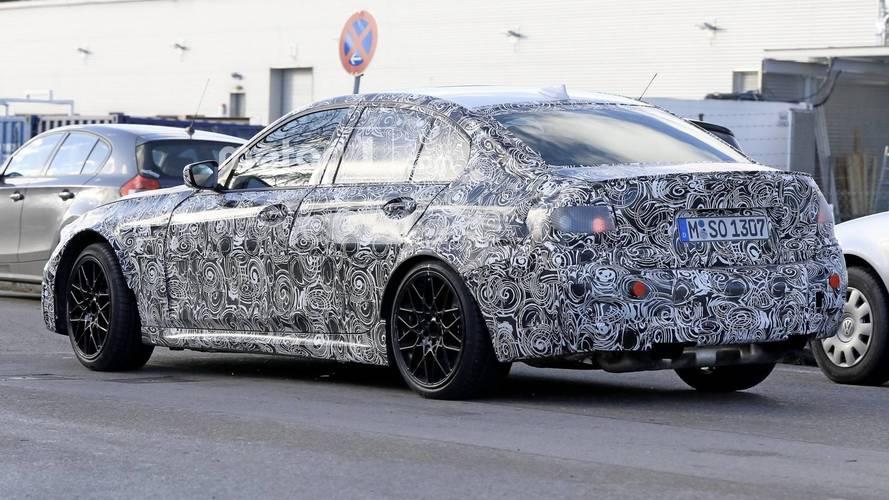 2020 BMW M3 spy photo