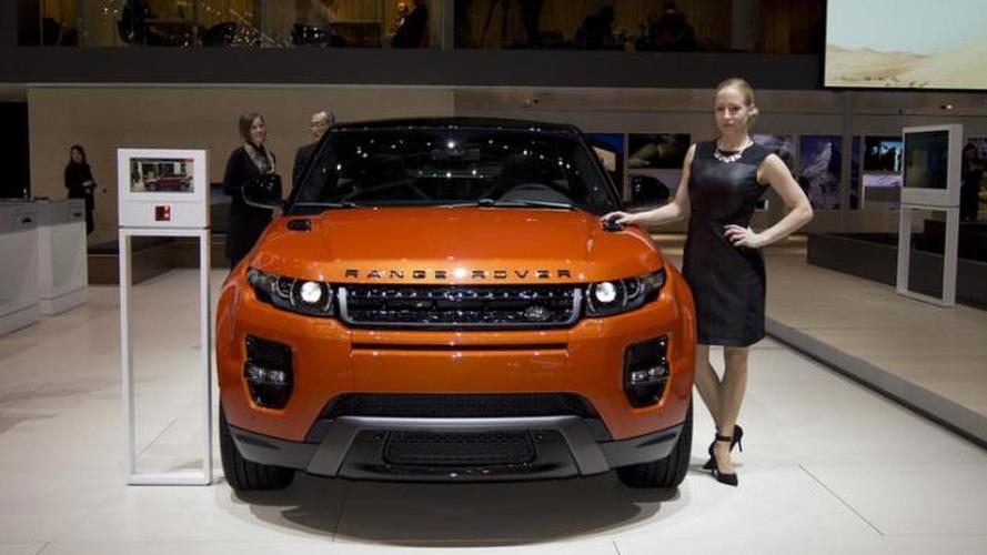 Range Rover Evoque Autobiography Dynamic flagship model debuts in Geneva