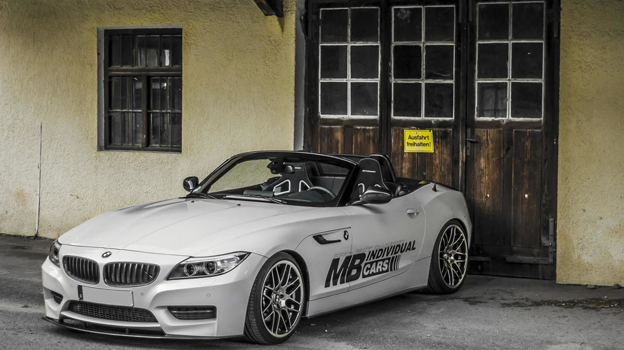 BMW Z4 gets the carbon fiber treatment from MB Individual Cars