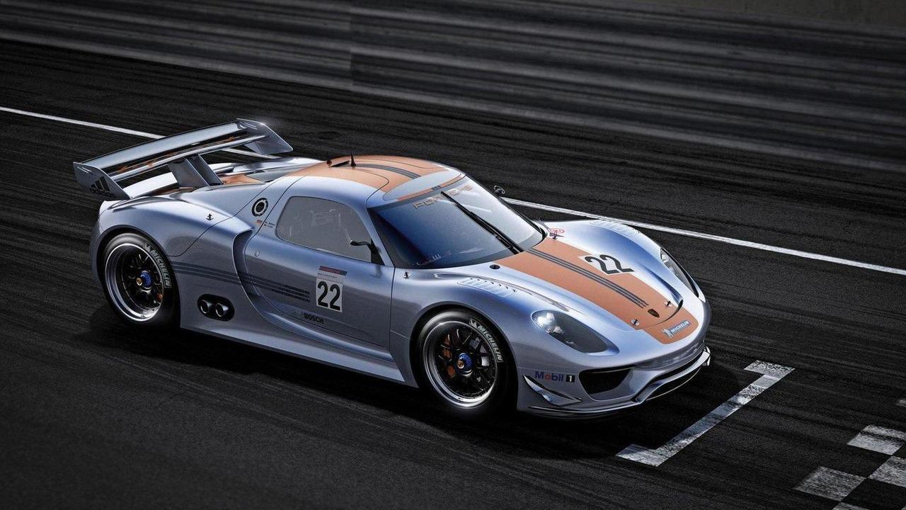 Porsche 918 RSR, 1600, 10.01.2011