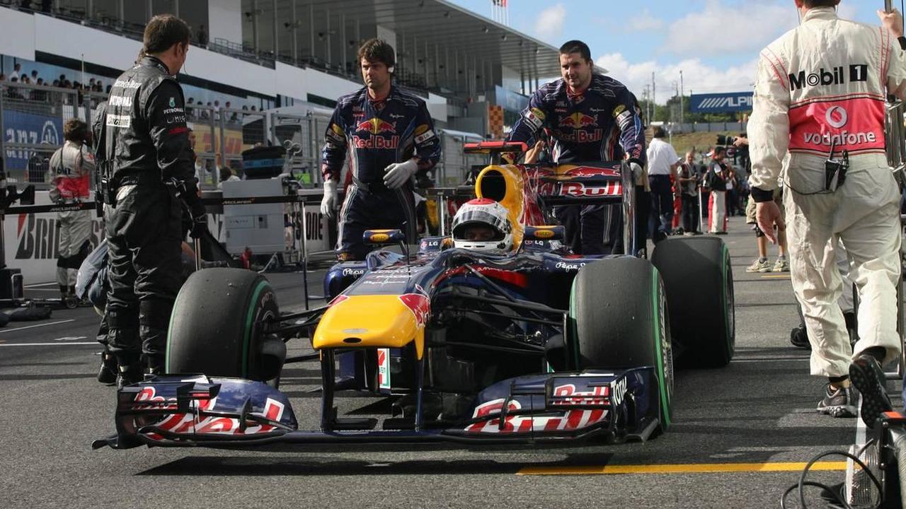 Sebastian Vettel (GER), Red Bull Racing - Formula 1 World Championship, Rd 16, Japanese Grand Prix, 10.10.2010 Suzuka, Japan
