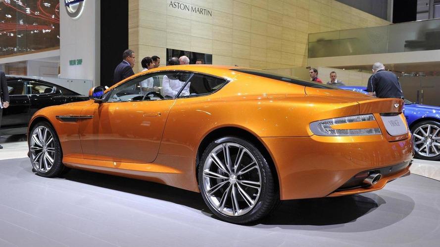 Aston Martin Virage live in Geneva