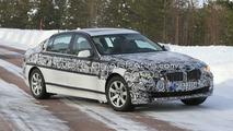 2011 BMW 5-Series long wheelbase spy photos 04.03.2010