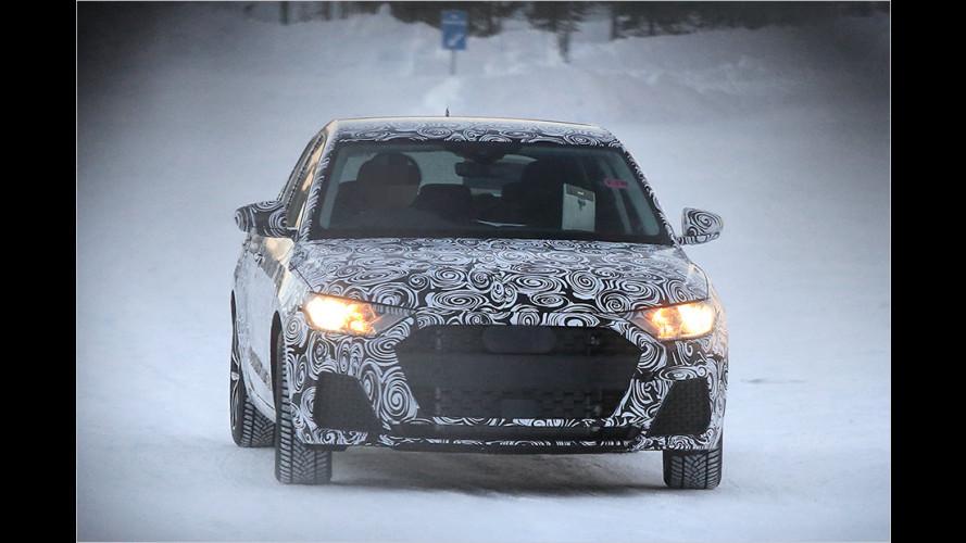 Erwischt: Audi arbeitet am neuen A1