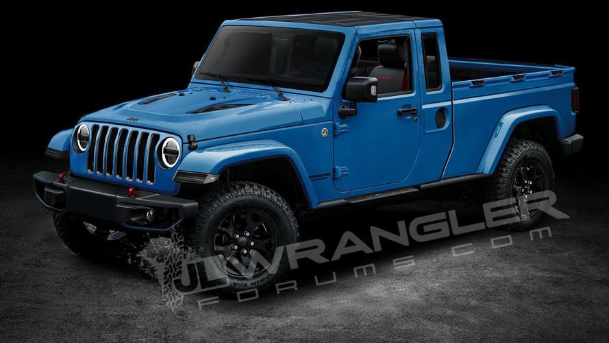 Jeep Wangler Pick-Up - Projeções