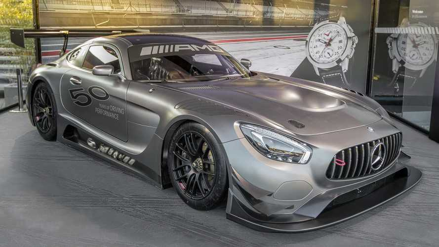 Mercedes Celebrates 50 Years Of AMG With Special GT3 Edition 50