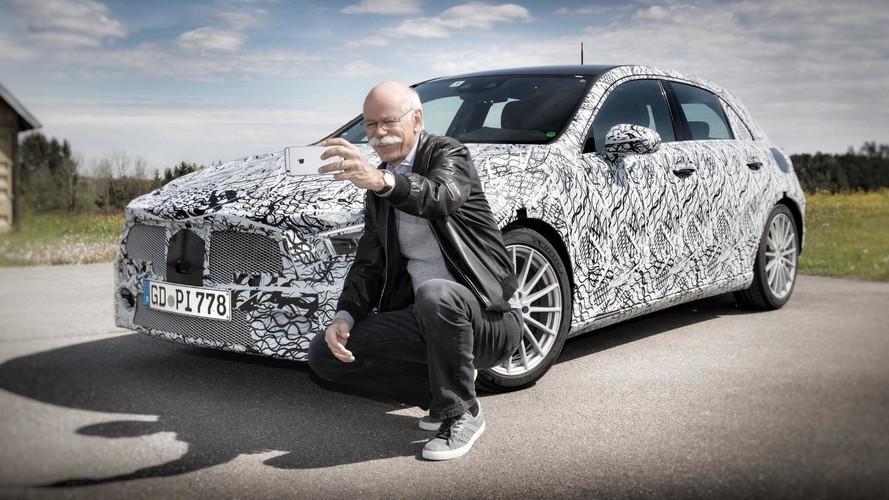 2019 Mercedes A-Class Teased… On LinkedIn