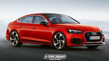 Audi RS5 Shooting Brake, Sportback, Cabriolet renders