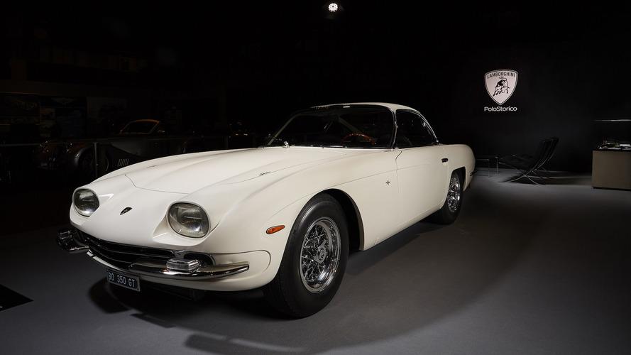 Restored 1964 Lamborghini 350 GT steals the show in Paris