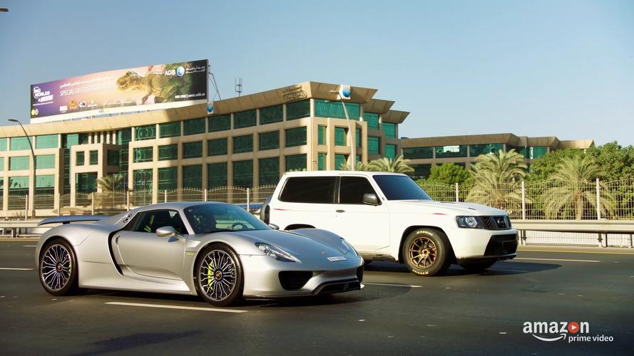 Bu 1,900 bg'lik Nissan SUV, Porsche 918'i kahvaltı niyetine yiyor