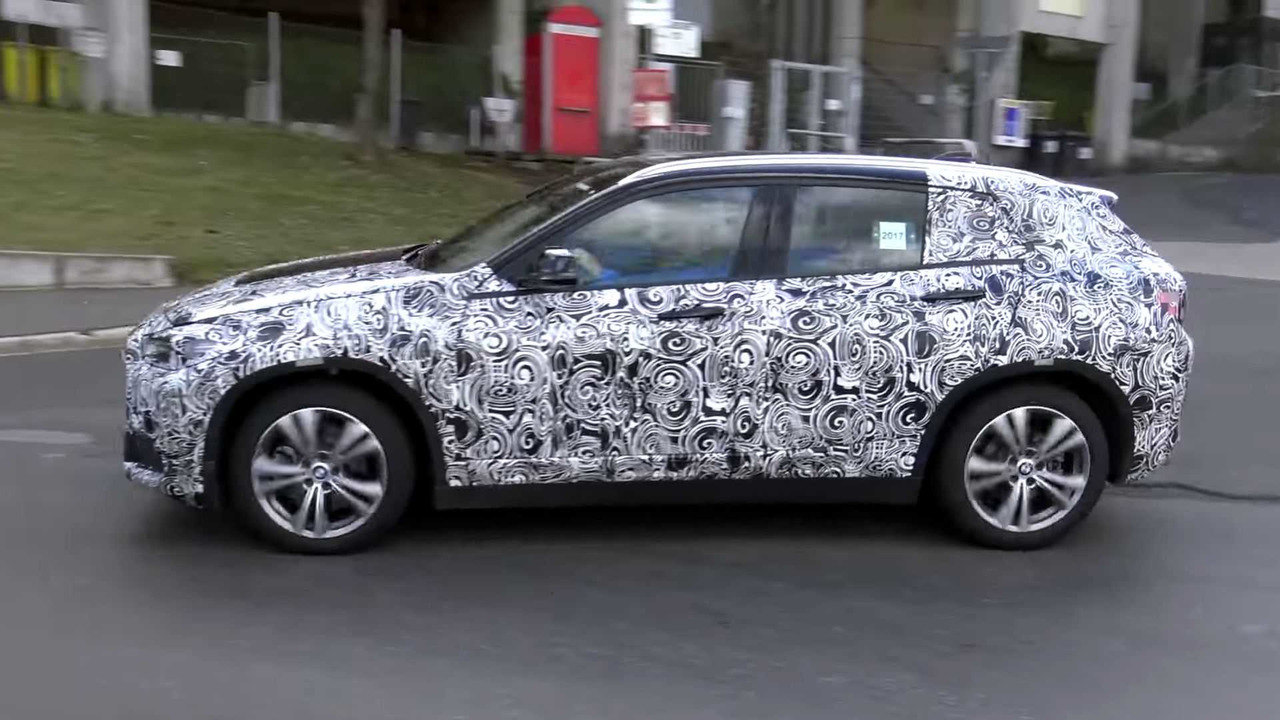 BMW X2 Spy Video