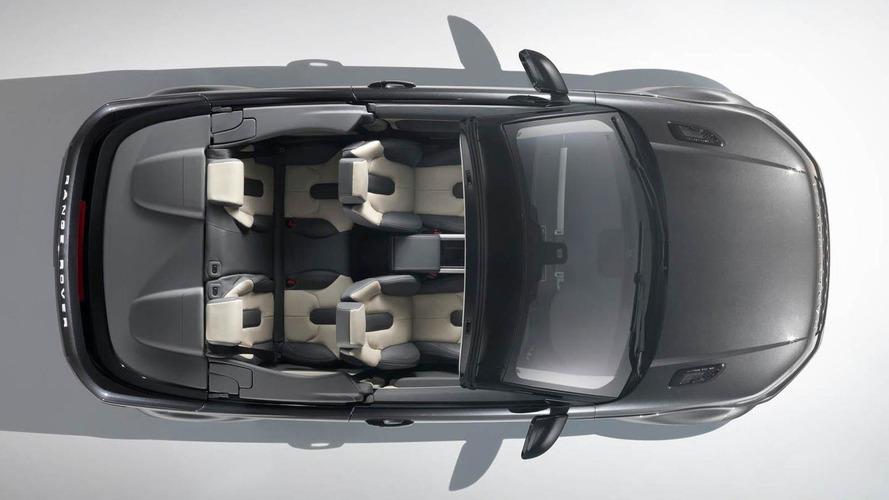 Range Rover Evoque Cabrio concept debuts in Geneva [video]