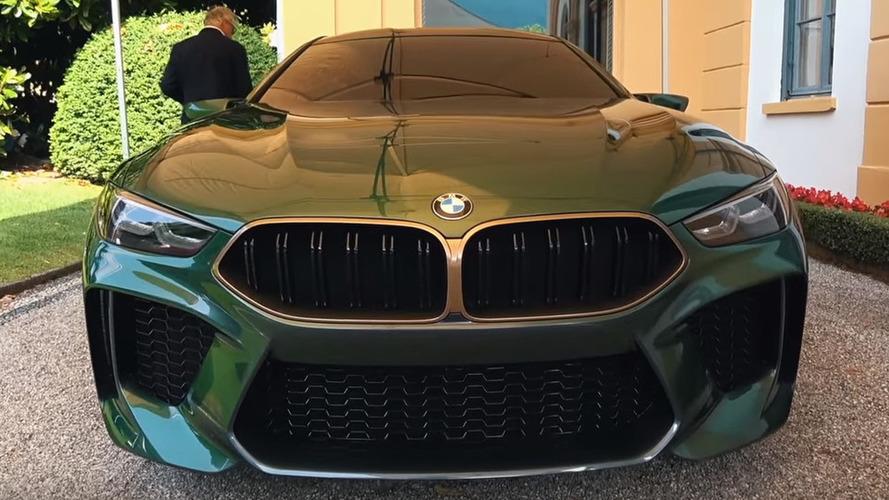 BMW M8 Gran Coupe konsepti kameraya alındı