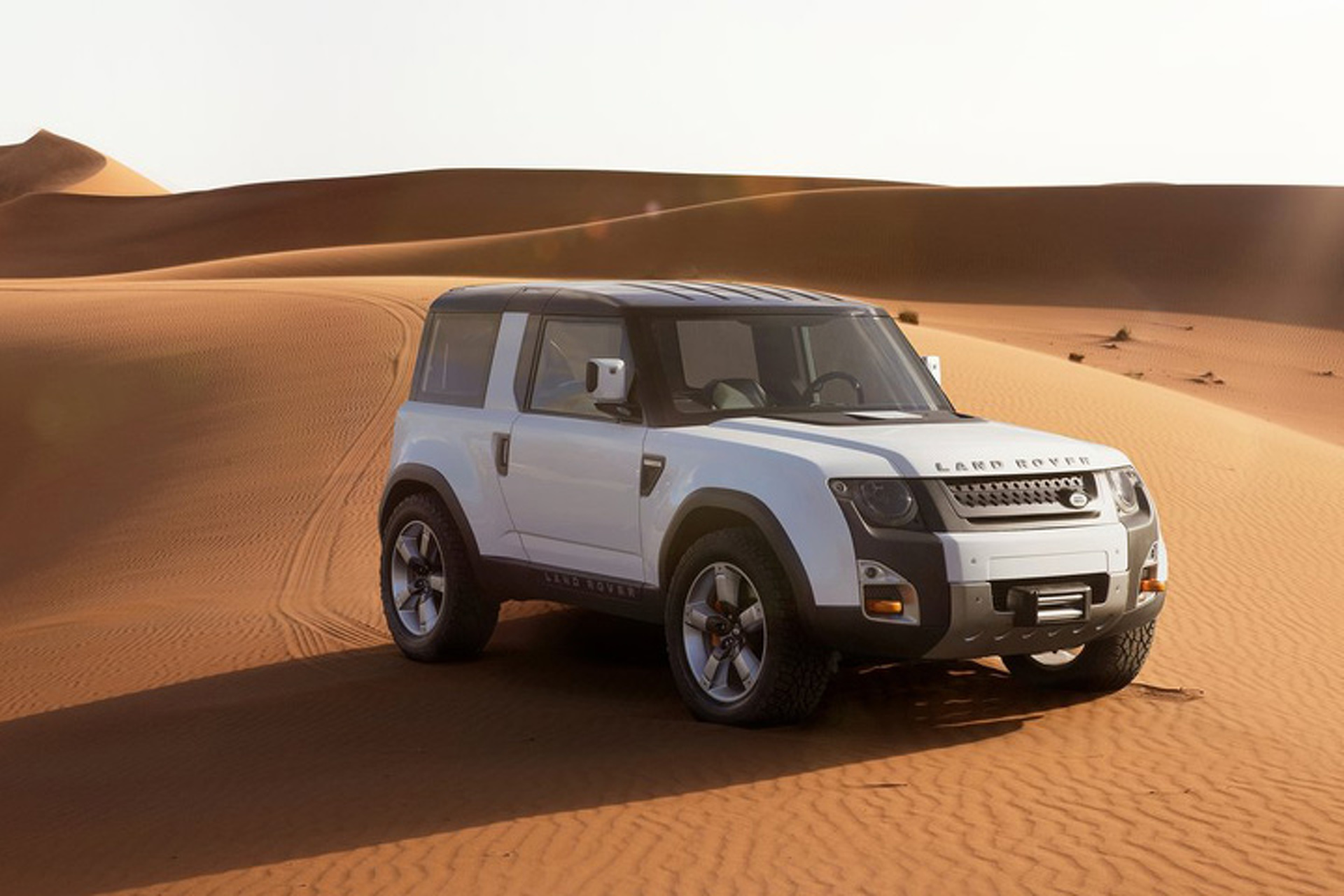 Land Rover Finalizes Look of Next-Gen Defender
