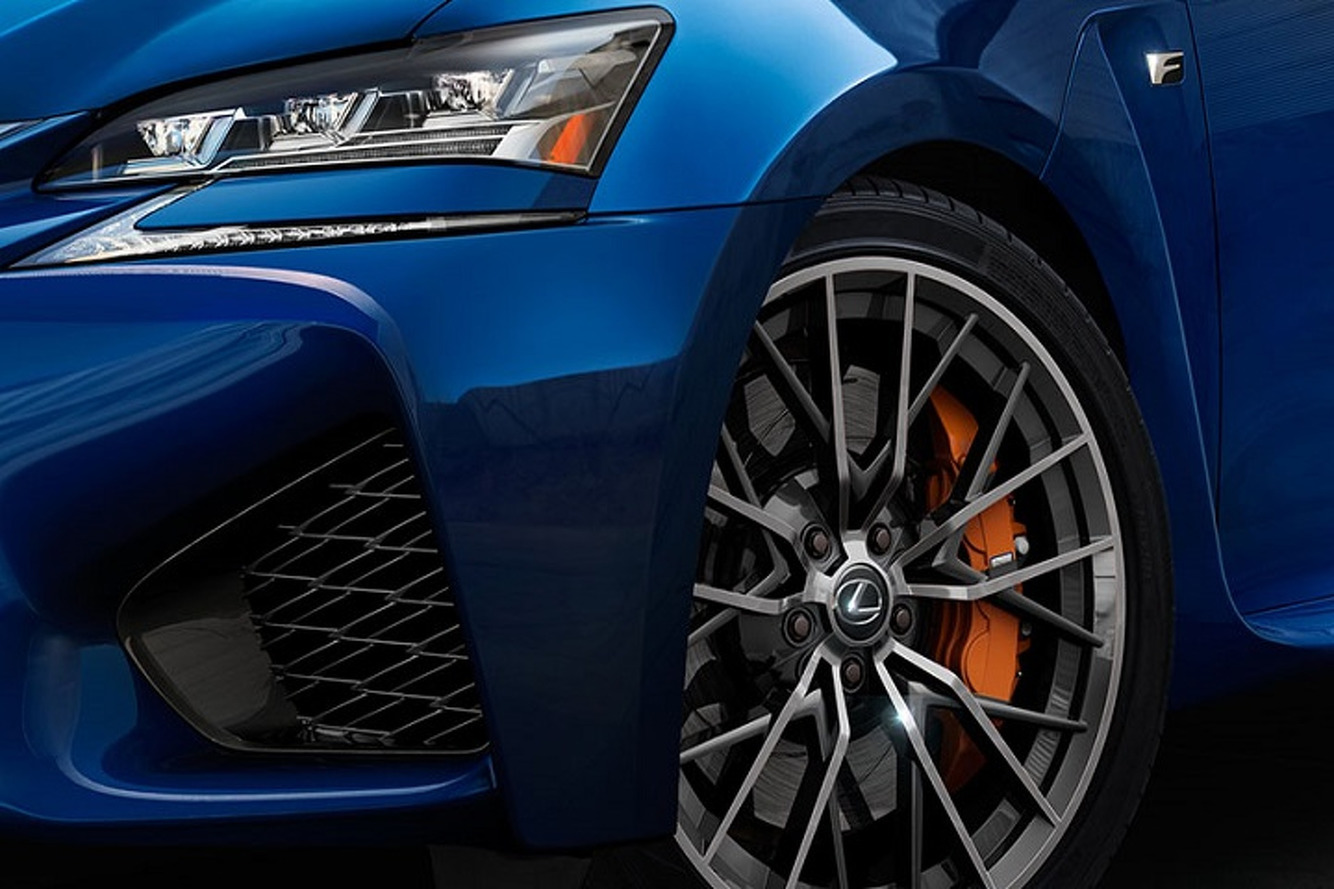 Take a Sneak Peek At The New Lexus F Model
