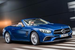 Mercedes-Benz SL-Class Gets a Much-Needed Facelift