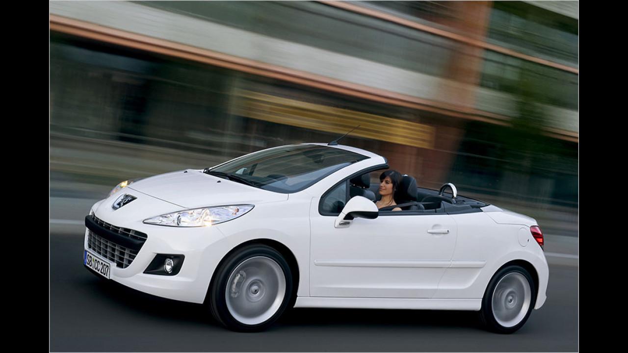 Platz 4: Peugeot 207 CC