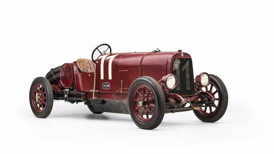 Este Alfa Romeo G1, de 1921, sale a subasta