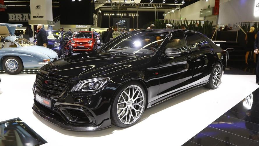 Brabus offre 700 chevaux à la Mercedes E 63 S pour Francfort