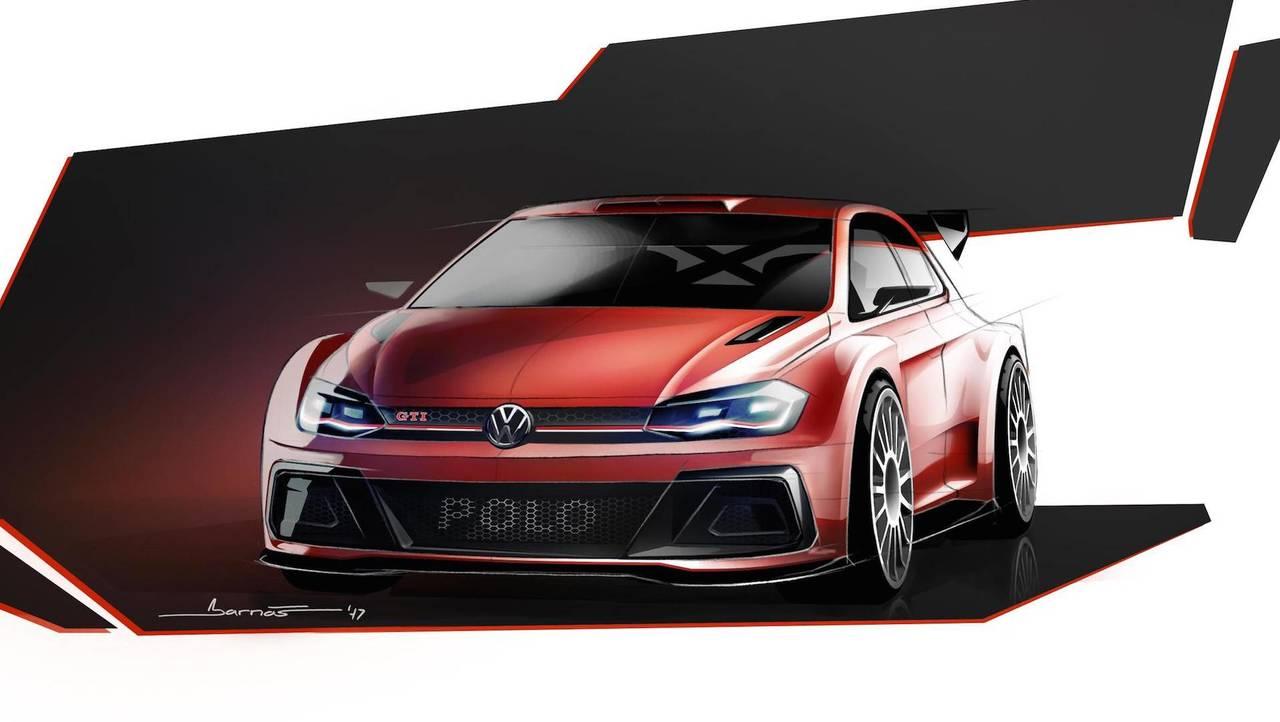 VW Polo GTI R5 Rally Car