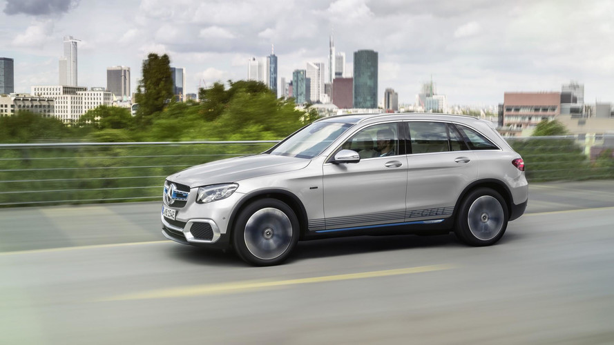 Mercedes GLC F-Cell: Hydrogen Fuel Meets Plug-In Power