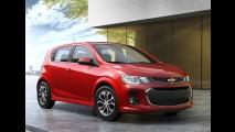 Chevrolet Sonic 2017 ganha novo visual e mais tecnologia - veja fotos