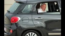 Fiat 500L usado pelo Papa Francisco está à venda nos Estados Unidos