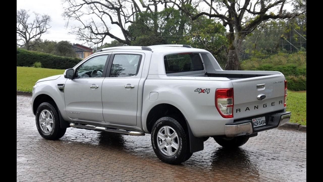 Ford convoca Ranger 2.2 diesel no Brasil por risco de incêndio