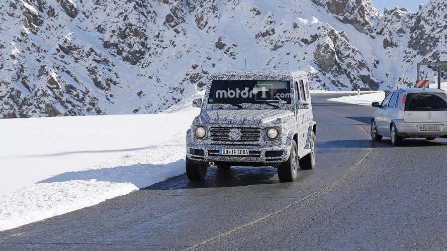 Flagra do Mercedes-Benz Classe G 2018