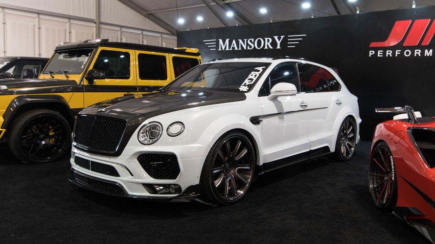 Even the Bentley Bentayga isn't safe from SEMA