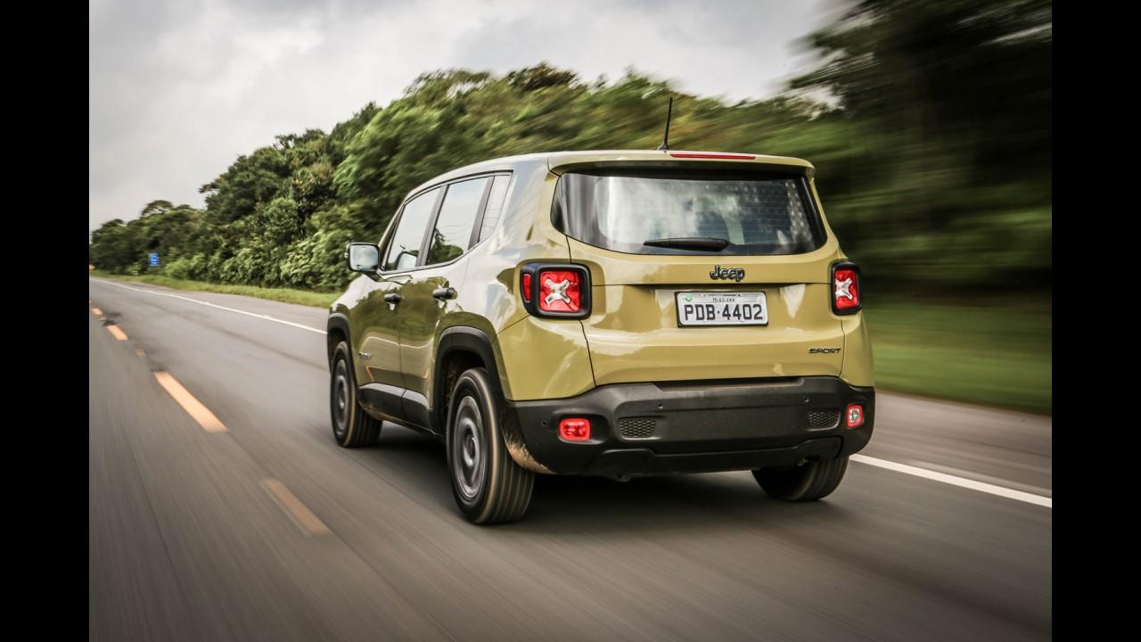 Jeep Renegade fica mais caro: preços variam entre R$ 68.990 e R$ 125.990